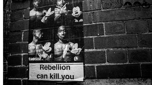 Rebellion can kill you - StreeArt