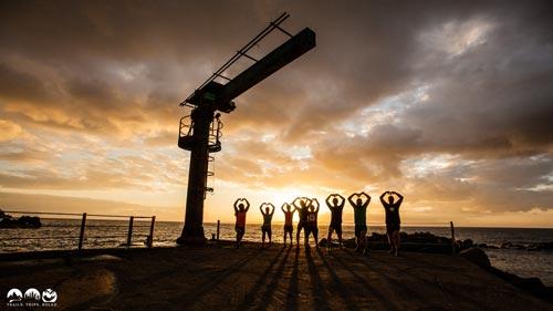 Yoga auf Madeira