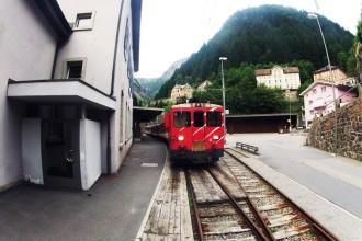 Bahnhof Göschenen