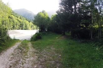 An der Rhone entlang