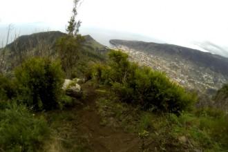 Der letzte Downhill vor Machico