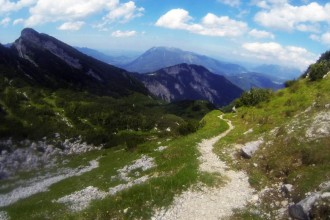 Downhill zum Längenfelder Talstation