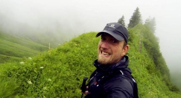 Rund um den Allgäuer Höfats bei Starkregen