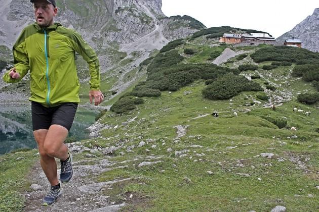 Running an der Coburger Hütte