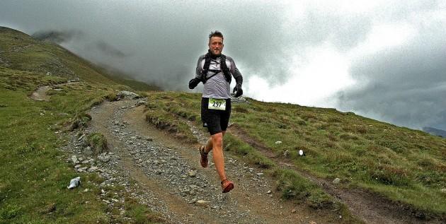 Downhill auf der 3. Etappe