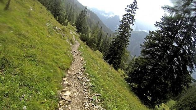 Downhill Pallisalm
