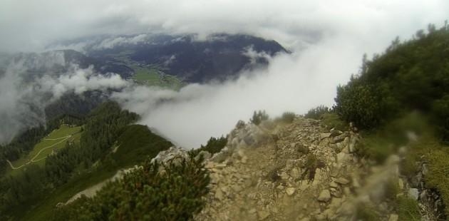 Aufstieg Seekarspitze