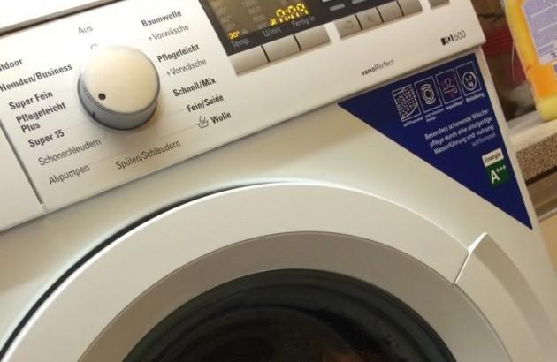 """Waschmaschine """"Operation Schweiß-frei"""""""
