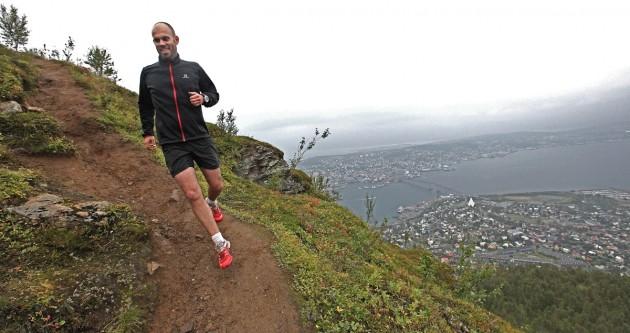 Downhill Tobias über Tromsö
