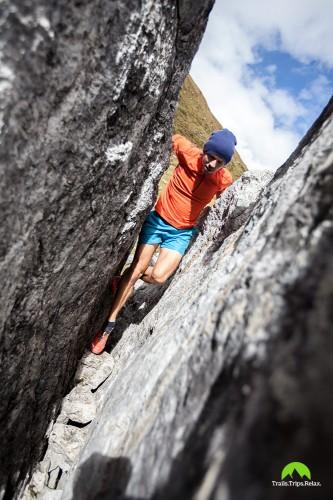 Fels klettern.. fast bouldern?!