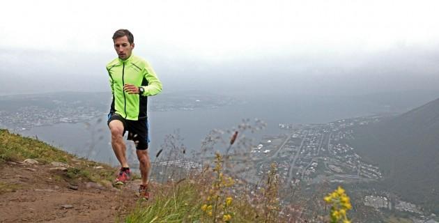 Hendrik im Uphill über Tromsö