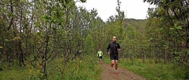 Tromsö Downhill im Wald