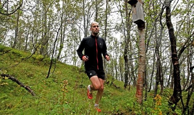 Tobias im Tromsö Wald
