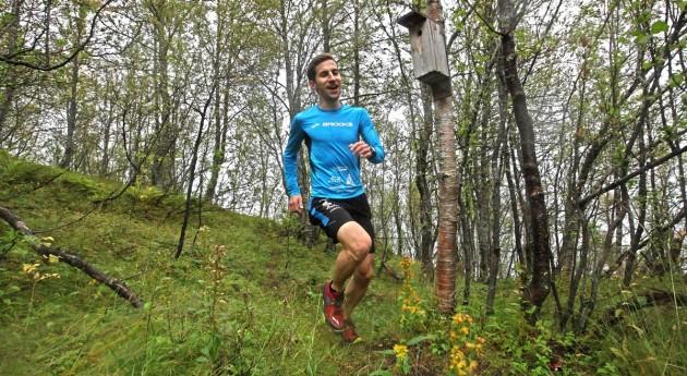Hendrik im Tromsö Wald