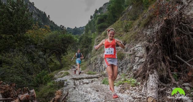 Emelie Forsberg im Downhill