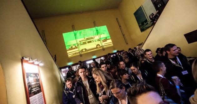 Eingang im Babylon Kino