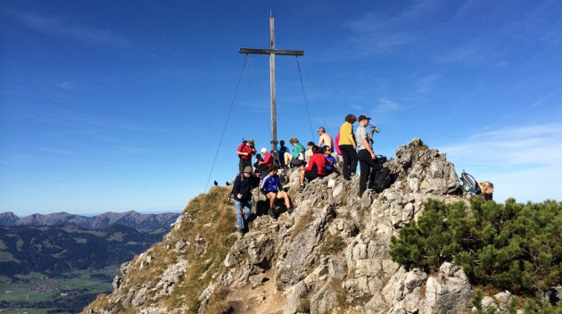 Rubihorn Gipfel