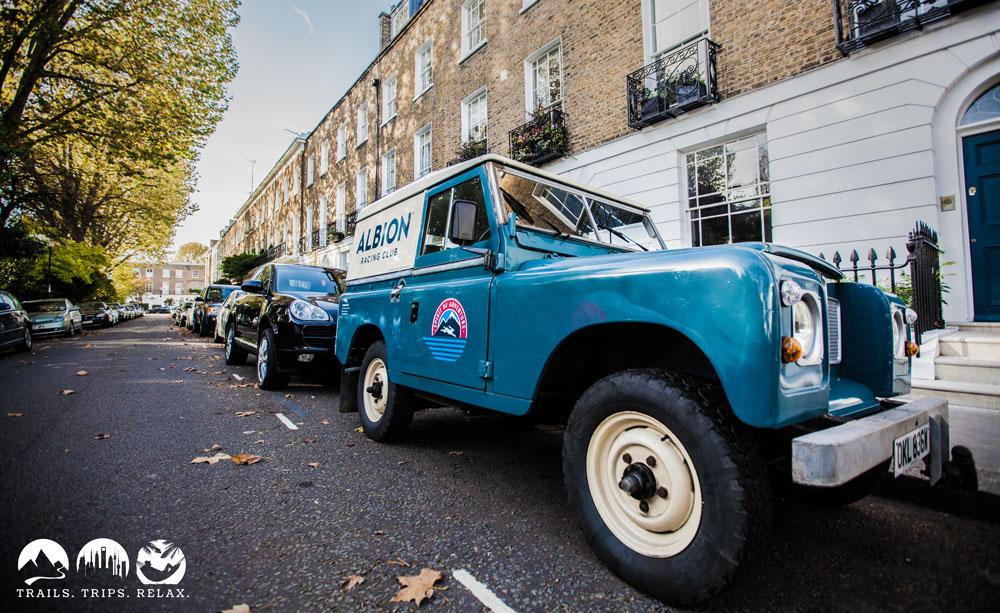 Britisch: Land Rover