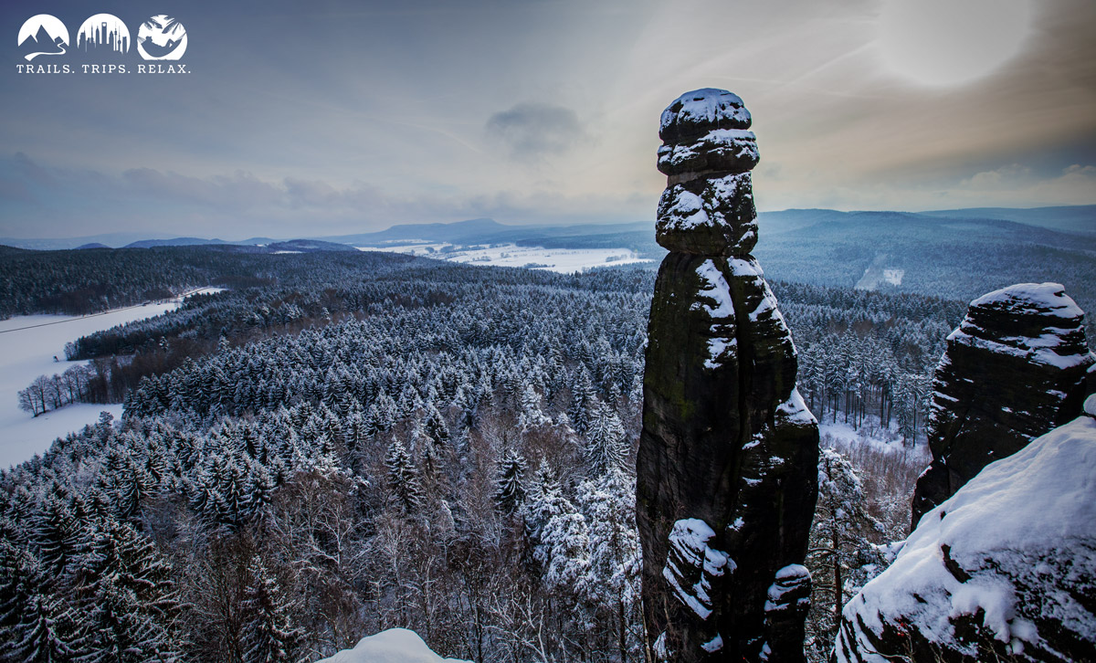 Pfaffenstein im Winter