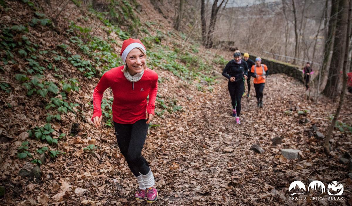 Mit Nolle hecheln – der Weihnachts Trail 2014