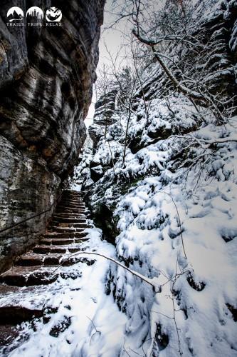 Vereiste Treppen