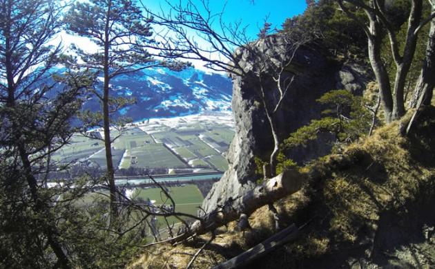 Steil ab ins Rheintal