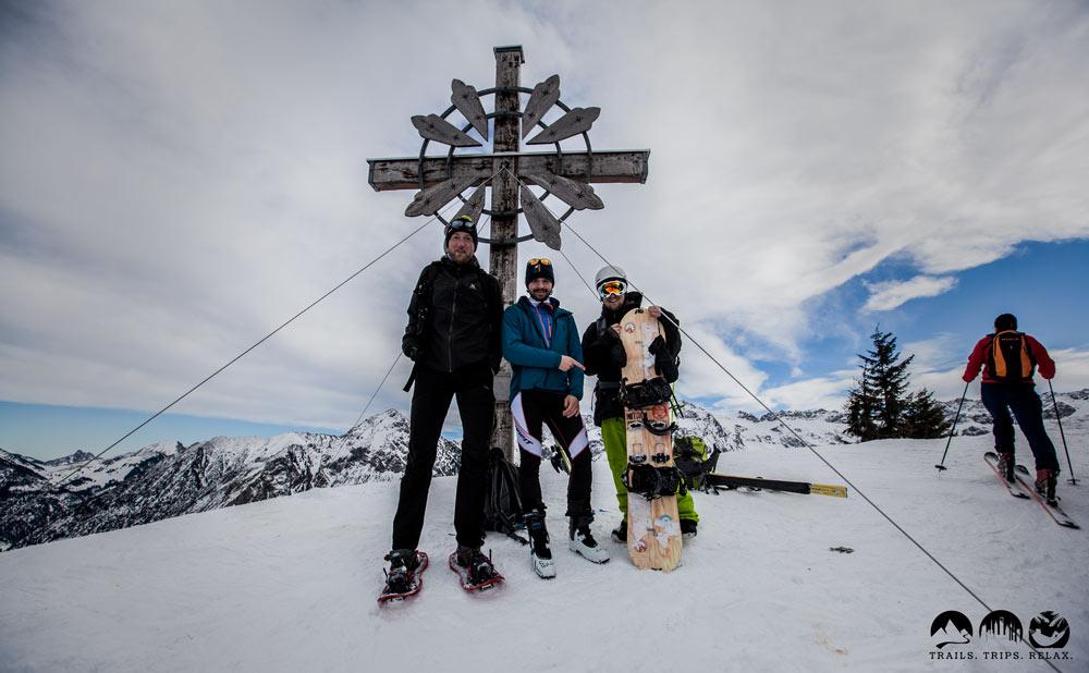 Gipfelkreuz Sonnenkopf