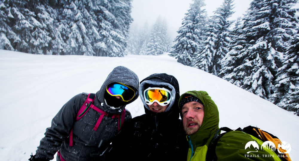 Schneeschuh Trio