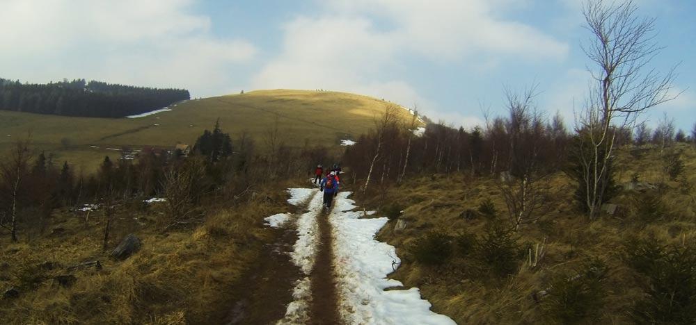 Uphill zum Petit Ballon