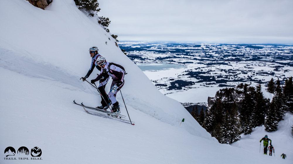Finale Tegelberg Furioso: Bilder der Skimo Challenge Allgäu