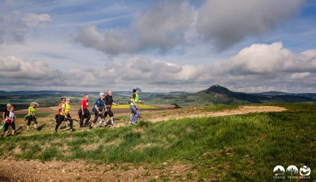 Nordic-Walking mit Hohenhewen-Blick