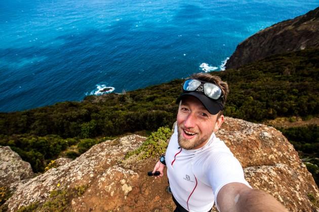 Selfie an der Boca do Risco