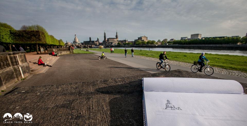 Canaletto der Moderne. Dresden Stadtblick