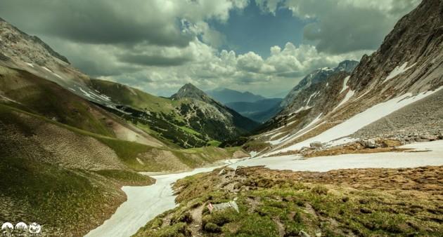 Downhill zur Rotmoosalm