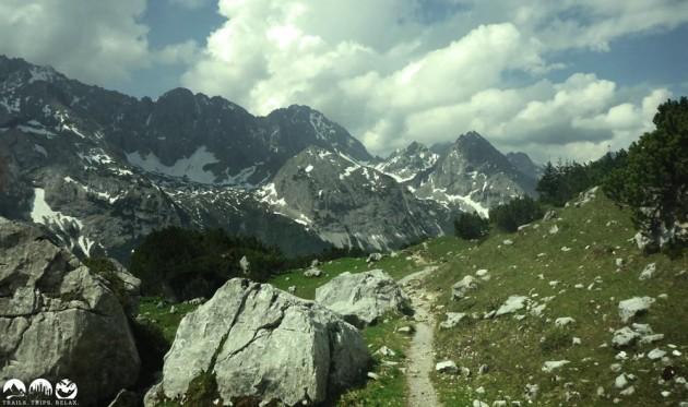 Ehrwalder Alm - Aufstieg zum Feldernjöchel