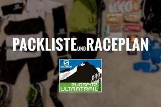 Packliste Zugspitz Ultratrail