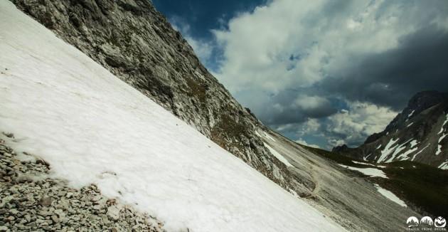 Trail Richtung Gatterl/ Feldernjöchel
