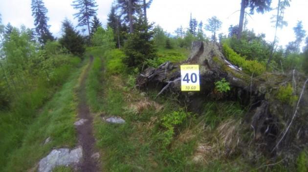 Nur noch 40 Kilometer