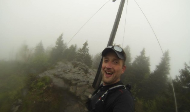 Gipfel-Selfie am Kleinen Arber