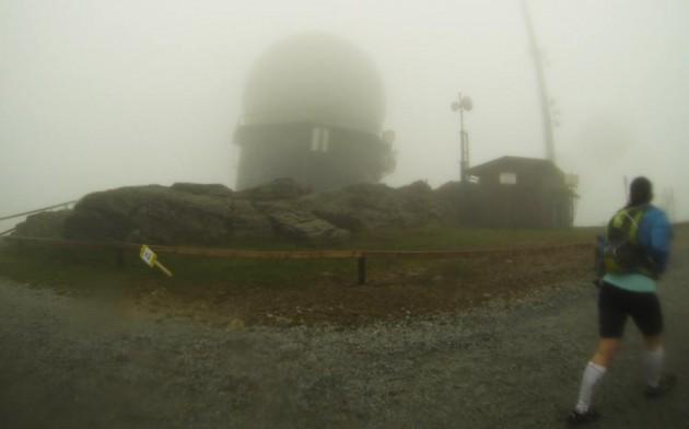 Radarstation auf dem Großen Arber