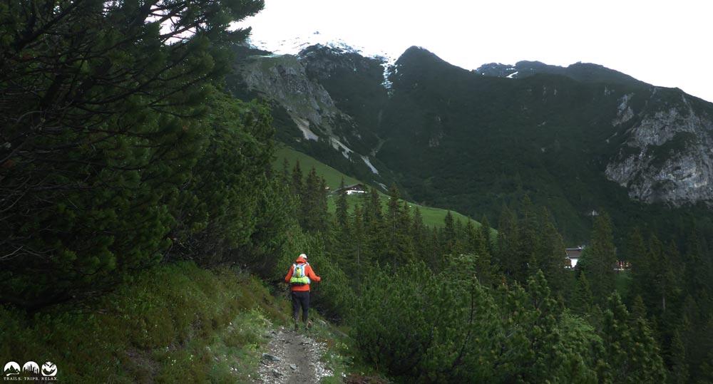 Trail zur Wetterstein-Hütte