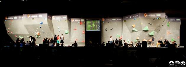 OutDoor 2015 Friedrichshafen – Bouldern und Retro