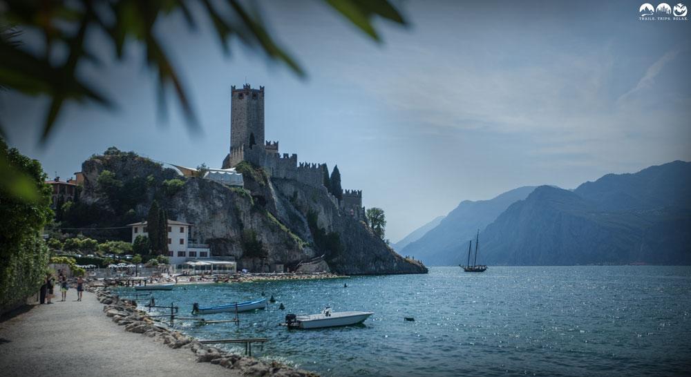 Gardasee: Ein Tag in Malcesine