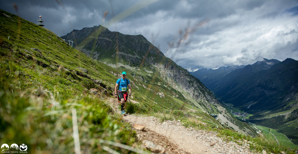 Uphill zum Rifflsee