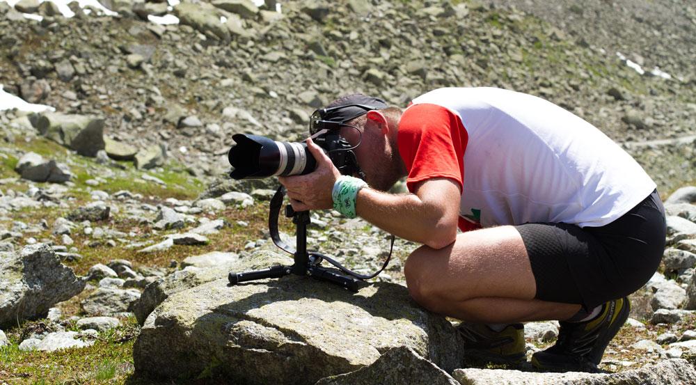 Beim Trailrunning ist dein Foto-Equipment zum Teil extremen Bedingungen wie Staub, Wasser o.ä. ausgesetzt