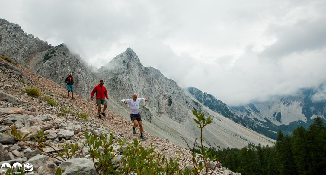 Trailrunning in den Karawanken: Klagenfurter Hütte