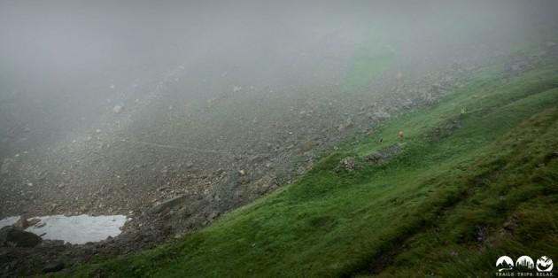 Der Trail hinauf zum Ifen