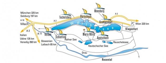 Region Wörthersee (C) Wörthersee Tourismus