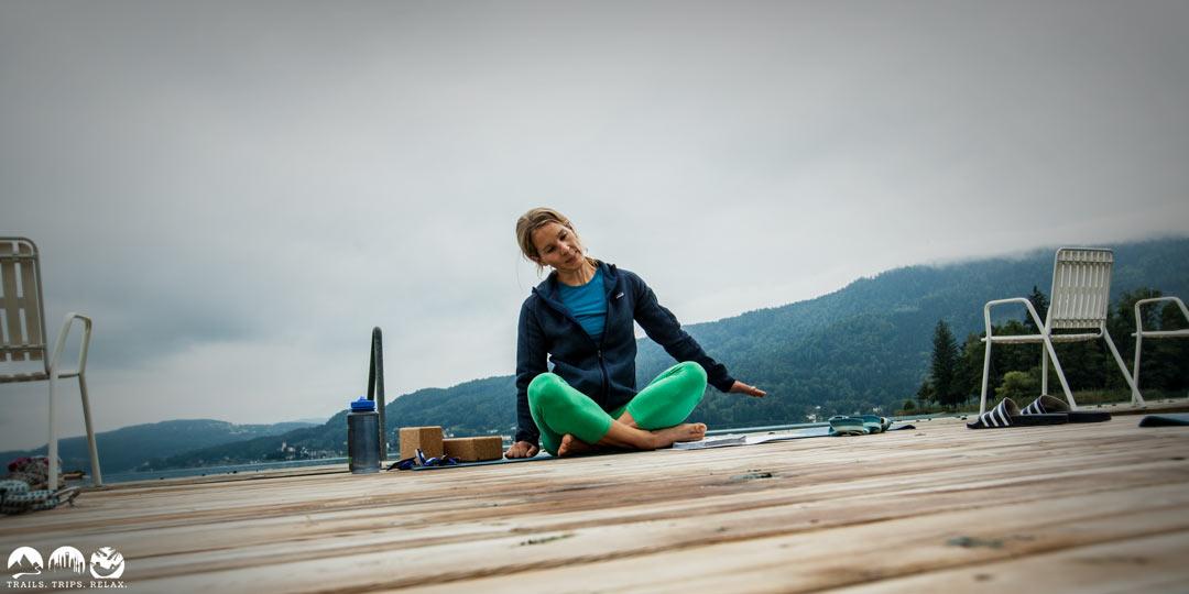 Freunde grüßt mir das Wasser – Yoga am Wörthersee