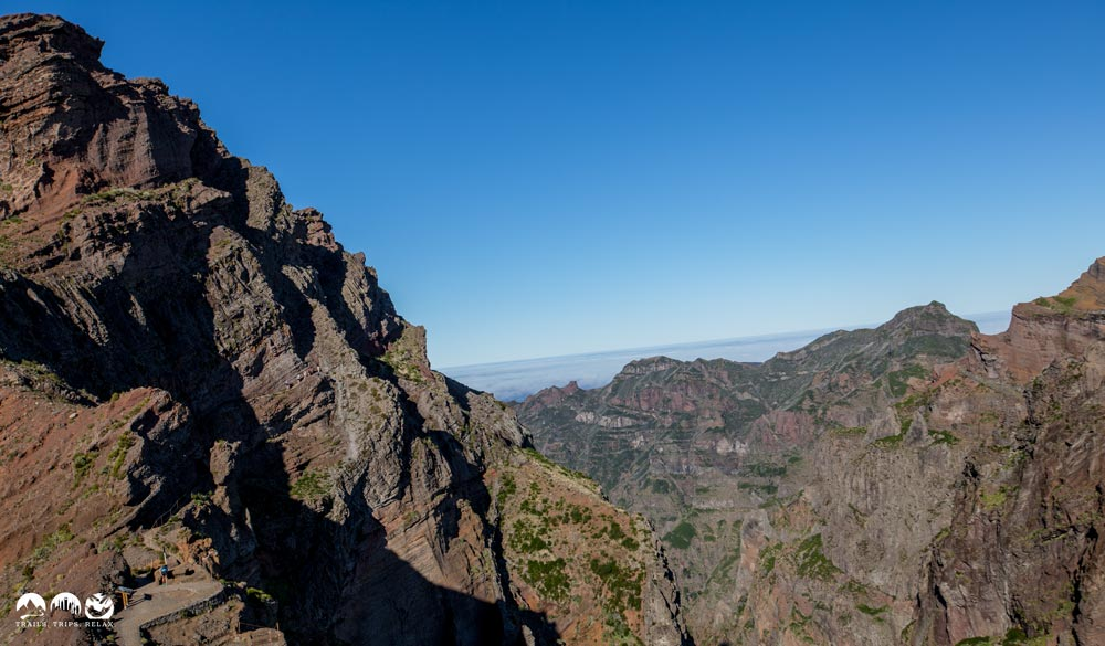 Solch ein Wetter am Pico Ruivo wäre ein Traum